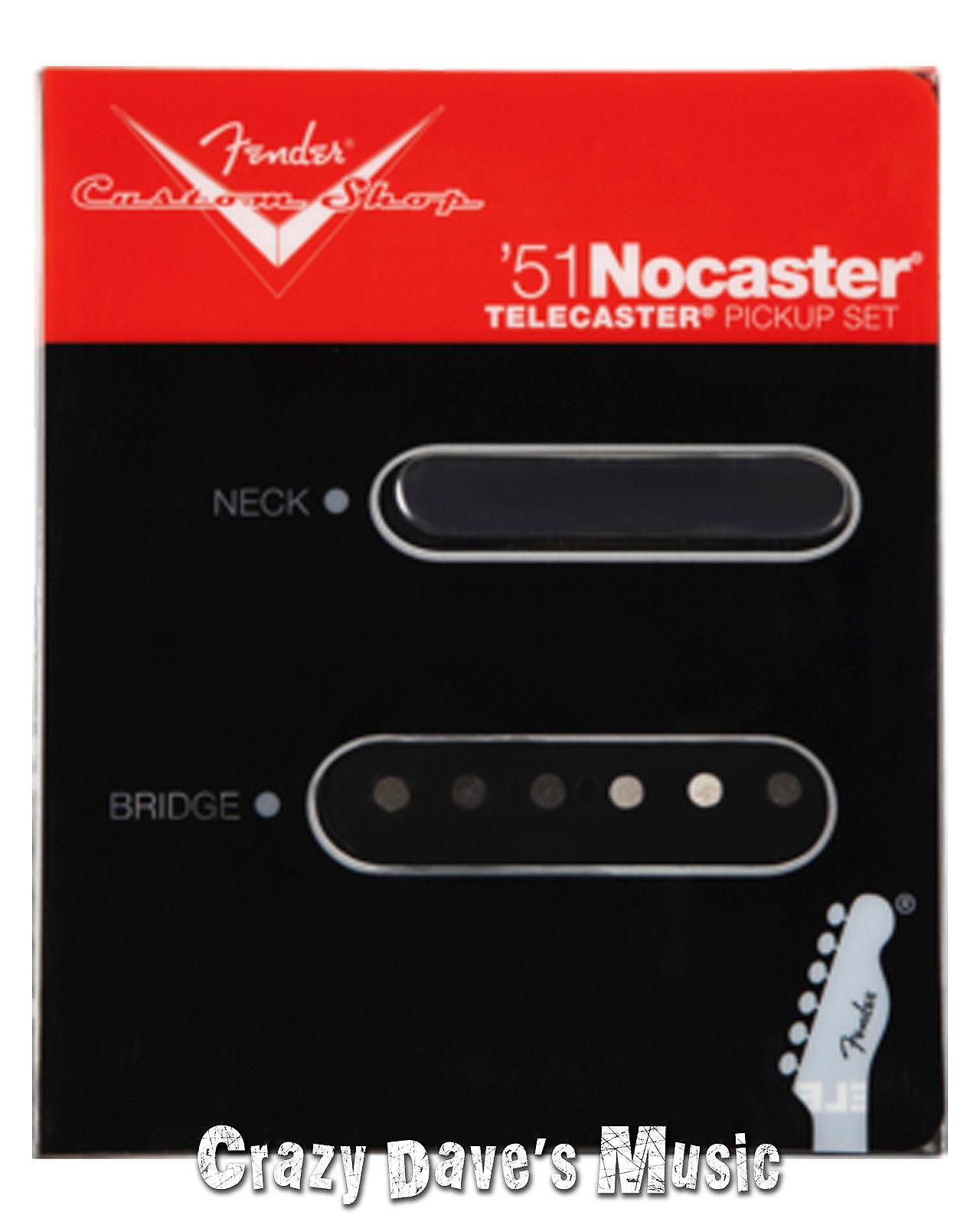 Fender Custom Shop 51 Nocaster Set on