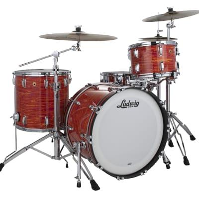Ludwig Legacy Maple Mod Orange Fab 14x22_9x13_16x16 Drum Set | Special Order | NEW Authorized Dealer