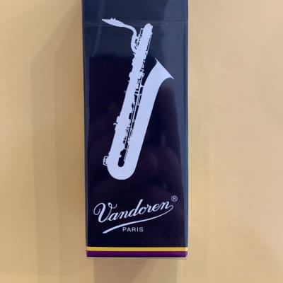 Vandoren Baritone saxophone reeds strength 2 1/2 box of 5