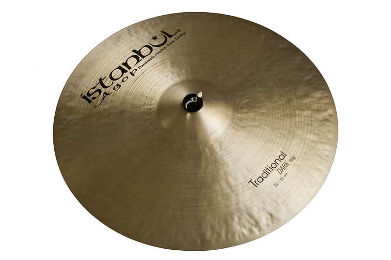 istanbul agop 24 inch traditional dark ride cymbal reverb. Black Bedroom Furniture Sets. Home Design Ideas
