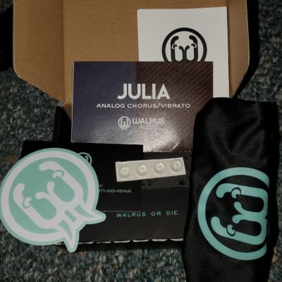Walrus Audio Julia Chorus/Vibrato BOX ONLY + Free Shipping!