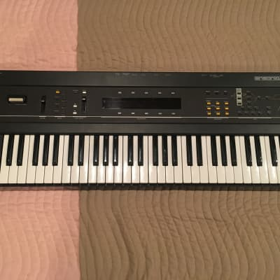 Ensoniq ESQ-1 with Memory Cartridge