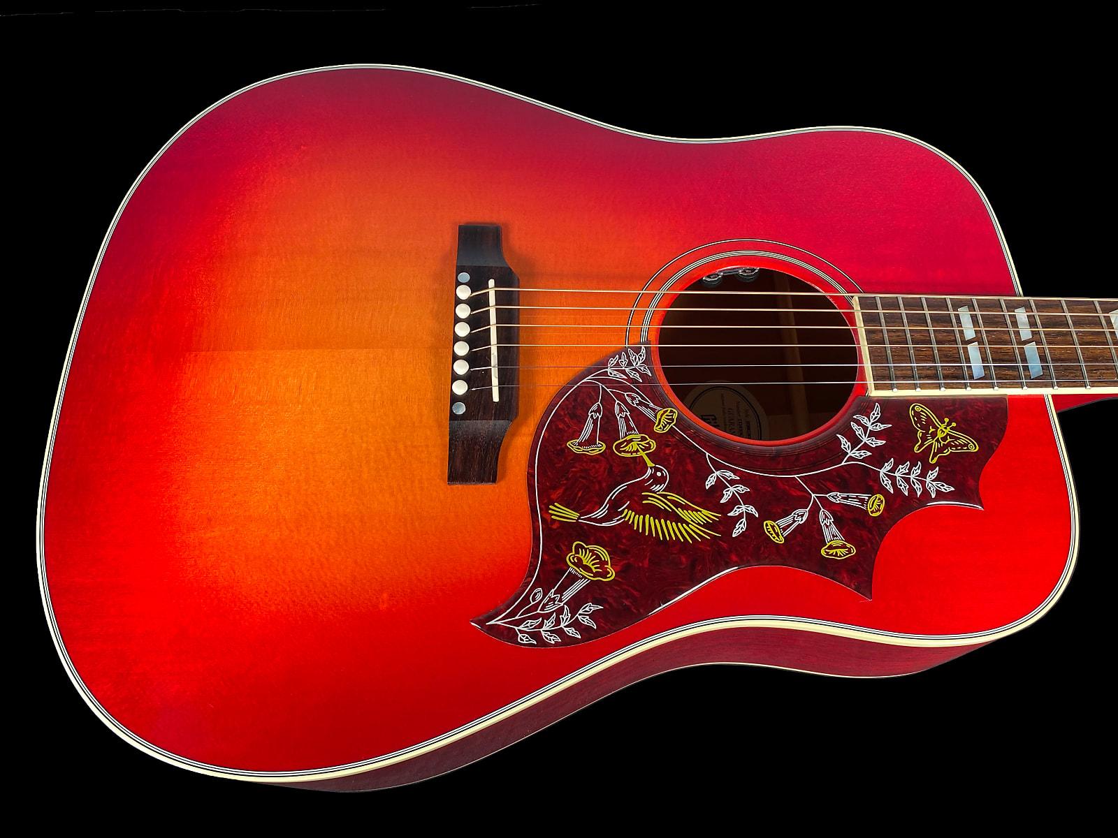 2019 Gibson Hummingbird Original ~ Vintage Cherry Burst