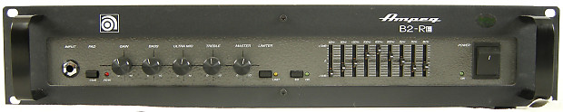 ampeg b2 re 450 watt solid state rackmount bass guitar reverb. Black Bedroom Furniture Sets. Home Design Ideas