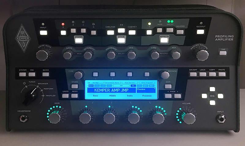 Kemper Profiling Amp , Remote, 2 Mission Pedals & Pelican Case, Lots of  Profiles