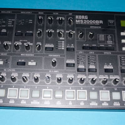 Korg MS2000BR Synthesizer Vocoder Analog Modeling