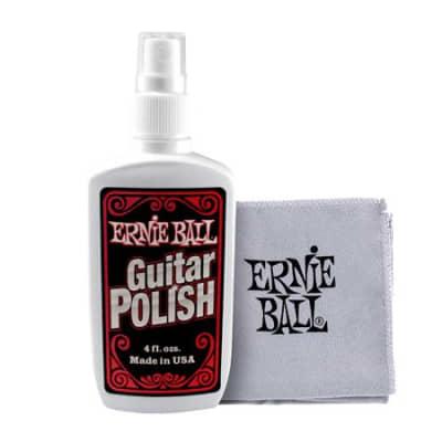 Ernie Ball P04222 Polish with Cloth
