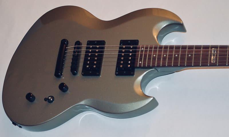 esp ltd guitar viper 50 silver early 2004 mint reverb. Black Bedroom Furniture Sets. Home Design Ideas