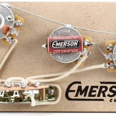 Emerson Emerson Custom 5-Way Strat Prewired Kit 500k United States for sale