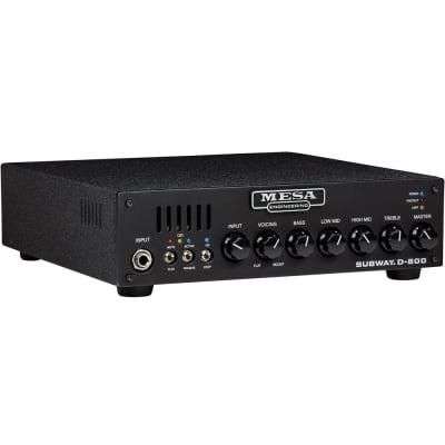 Mesa Boogie D-800 Subway Bass Amp, 5.5 lb, 800 Watts @ 4 Ohms