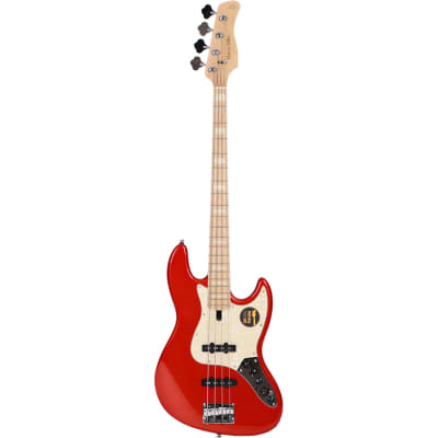 Sire Marcus Miller V7-4 2nd Generation Ash Bright Metallic Red for sale