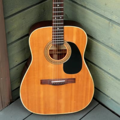 Morales MF-120 000 size falk guitar '70 Natural for sale