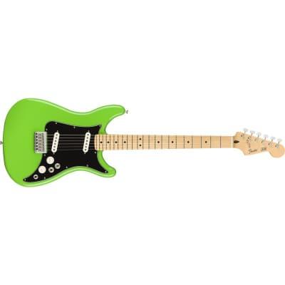 Fender Player Lead II Maple Fingerboard, Neon Green for sale