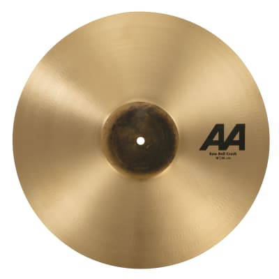 "Sabian 18"" AA Raw Bell Crash 2020 Natural"