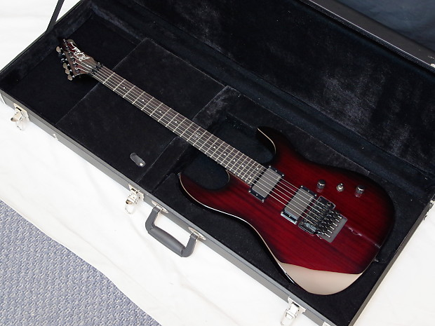 B.C. Rich ASM Pro electric Guitar Black Cherry Burst w/ Case | Reverb