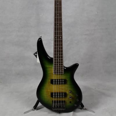 Jackson JS Series Spectra Bass JS3QV Laurel Fingerboard Alien Burst
