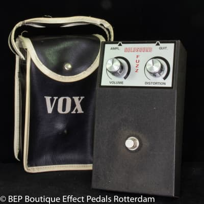 Goldsound Fuzz ( OEM Vox ) 1969 made in Italy