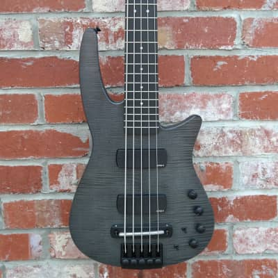 NS Design CR5 Electric Bass Guitar Charcoal for sale