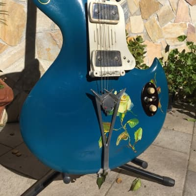 Wandre Rock Oval Masterpiece The Artist Guitar for sale