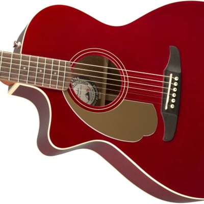 Fender Newporter Player LH, Walnut Fingerboard, Candy Apple Red for sale