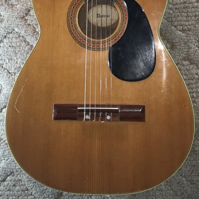 Decca Unknown 1960's? Vintage Classical Guitar, record company for sale