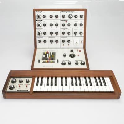 EMS VCS3 The Putney Mk1 Semi-Modular Synthesizer w/ DK1 Keyboard #40111