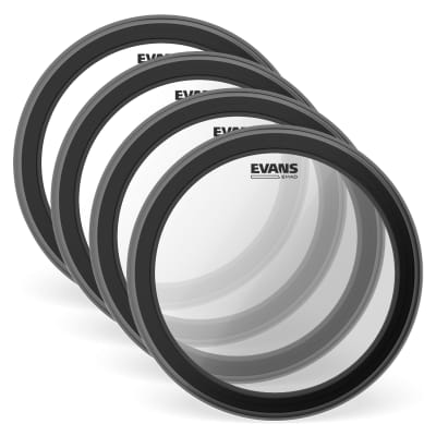 """Evans 16"""" EMAD Batter Clear (4 Pack Bundle)"""