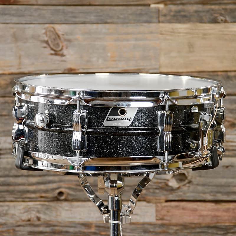 ludwig lm404 acrolite 5x14 aluminum snare black galaxy reverb. Black Bedroom Furniture Sets. Home Design Ideas