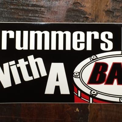 AIM Drummers Do It With A Bang Bumper Sticker 2012