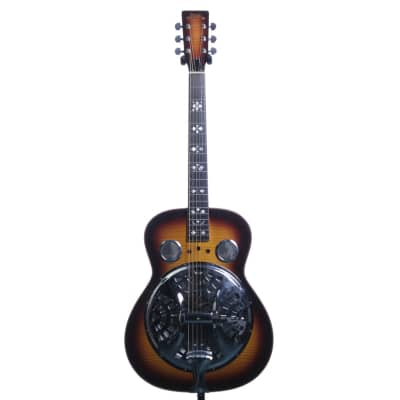 Morgan Monroe Bean Blossom Resonator Guitar in Sun Burst for sale
