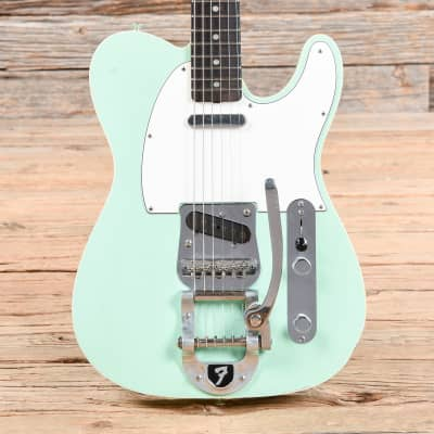 Fender Custom Shop '60s Telecaster Custom Relic Surf Green 2012 for sale