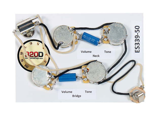 920d es 339 50 39 s wiring harness for gibson cts reverb. Black Bedroom Furniture Sets. Home Design Ideas