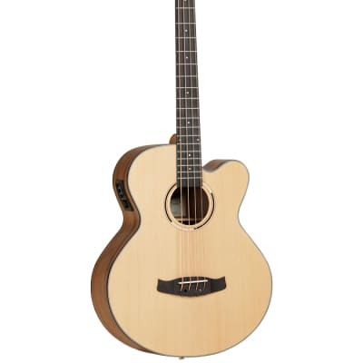 Tanglewood Discovery Electro Acoustic Bass, Natural for sale