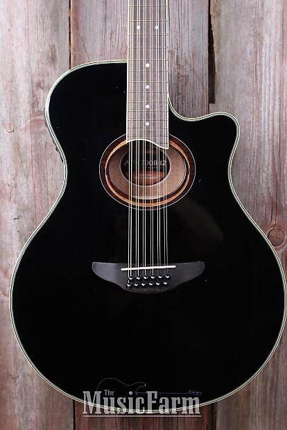 Yamaha Apx700ii 12 String Thinline Cutaway Acoustic