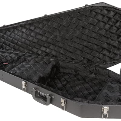 Coffin Case COFFIN GUITAR CASE  BLACK VELVET CF-G185BK for sale