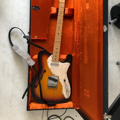 Fender Telecaster Thinline '69 CS 2011 Sunburst relic for sale