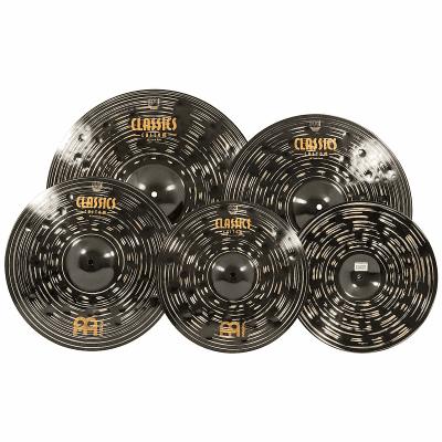 "Meinl Classics Custom Dark 14/16/20/18"" Cymbal Pack"