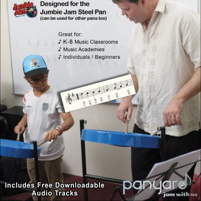 Panyard Jumbie Jam Steel Pan Method Book 3 of 3 <W5524>