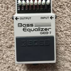Boss GEB-7 Bass Equalizer 2017