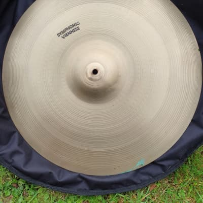 """Zildjian 1970s Avedis Symphonic Viennese Orchestral Clash 20"""" ONE ONLY, NOT A PAIR"""