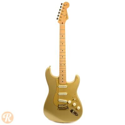 50th anniversary gold stratocaster