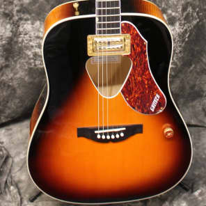 Gretsch G5031FT Rancher Dreadnought Fideli-Tron Pickup Sunburst Acoustic Electric Guitar for sale