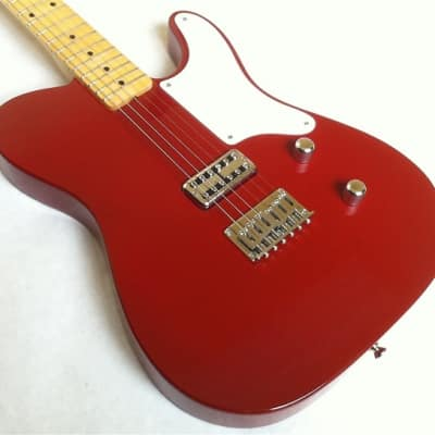 Fastback Guitars, The Cabo ~ Dakota Red,  Light/Med Relic for sale