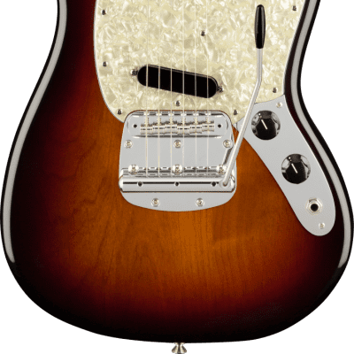Fender American Performer Mustang with Rosewood Fretboard 3-Tone Sunburst for sale