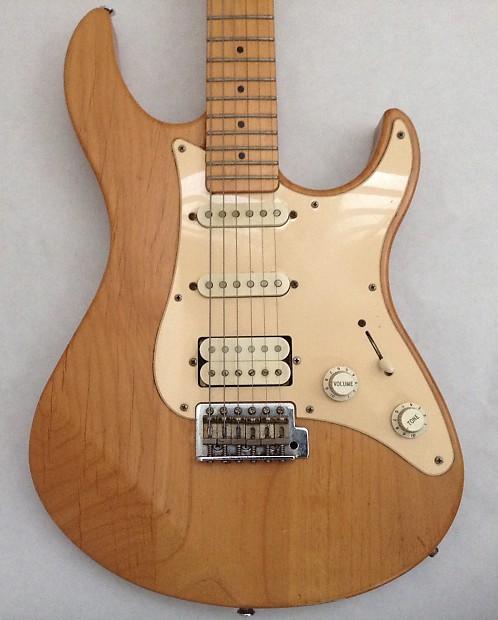 yamaha pacifica 112m electric guitar rare natural finish reverb. Black Bedroom Furniture Sets. Home Design Ideas