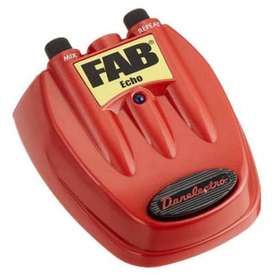 Danelectro D4 Fab Slap Echo Pedal for sale