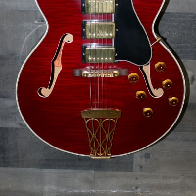 Gibson Es -5 Switch Master CS Historic 2001 Red