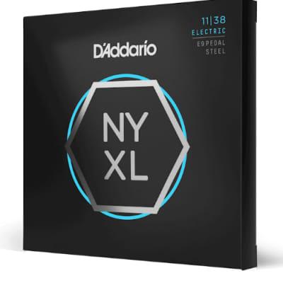 D'Addario NYXL 10-String E9th Pedal Steel Regular Light 11-38
