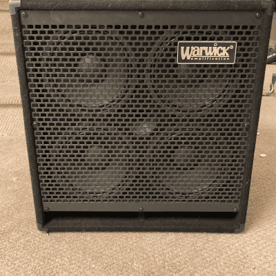 Warwick Warwick WCA 408 LW CE Bass Cabinet, 600W  2016 Black for sale
