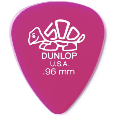 Dunlop 41R.96 Pink Delrin Standard .96mm Guitar Picks, 72 Pack